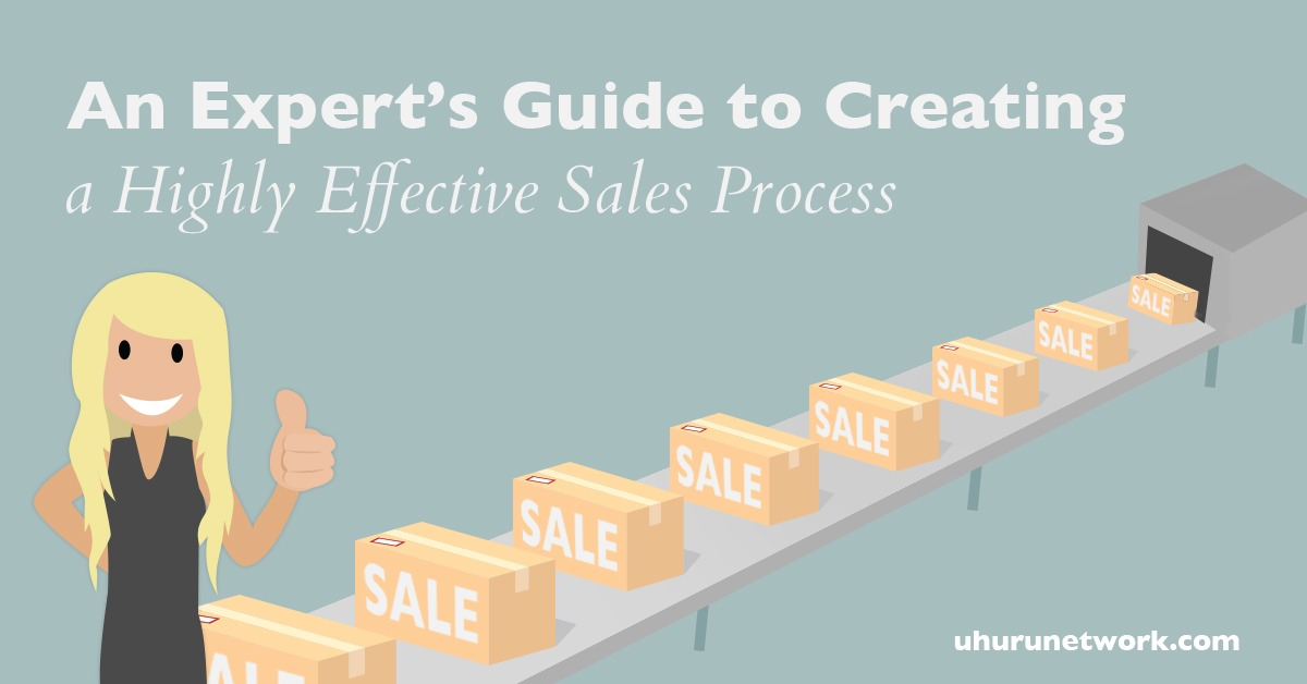 An Expert\u0027s Guide to Creating a Highly Effective Sales Process