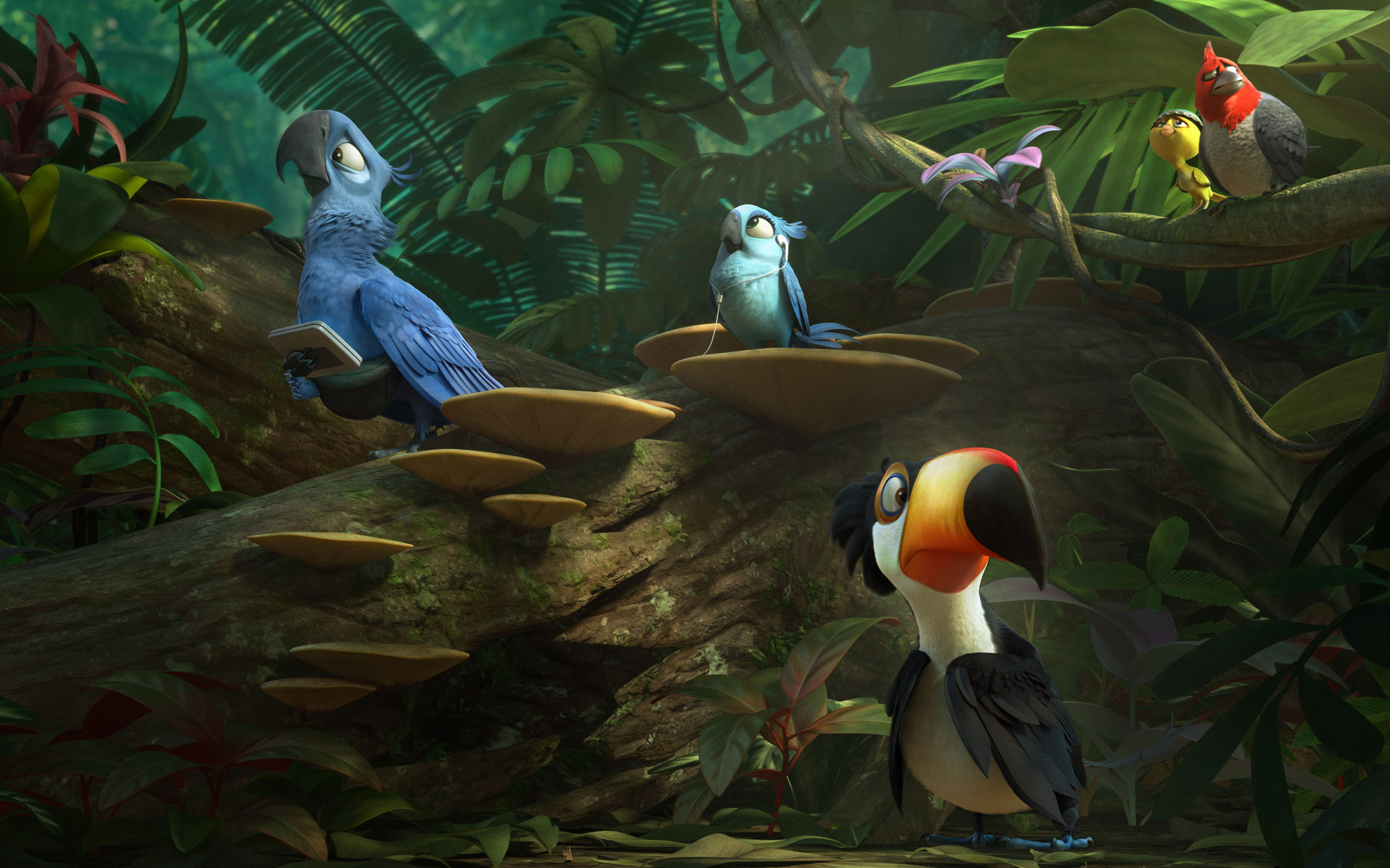 Angry Bird Girl Wallpaper Free Hd Rio 2 Movie Wallpapers Amp Desktop Backgrounds 2014