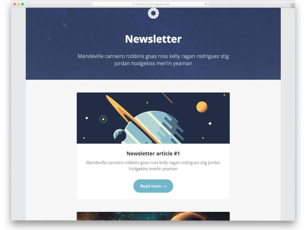 19 Ready To Use Free Responsive Email Templates 2018 - uiCookies