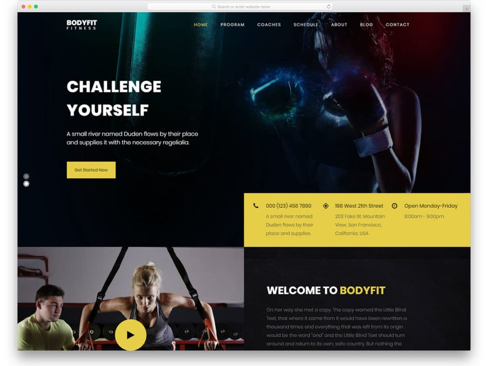 23 Free Sports Website Templates For Clubs And Communities 2019