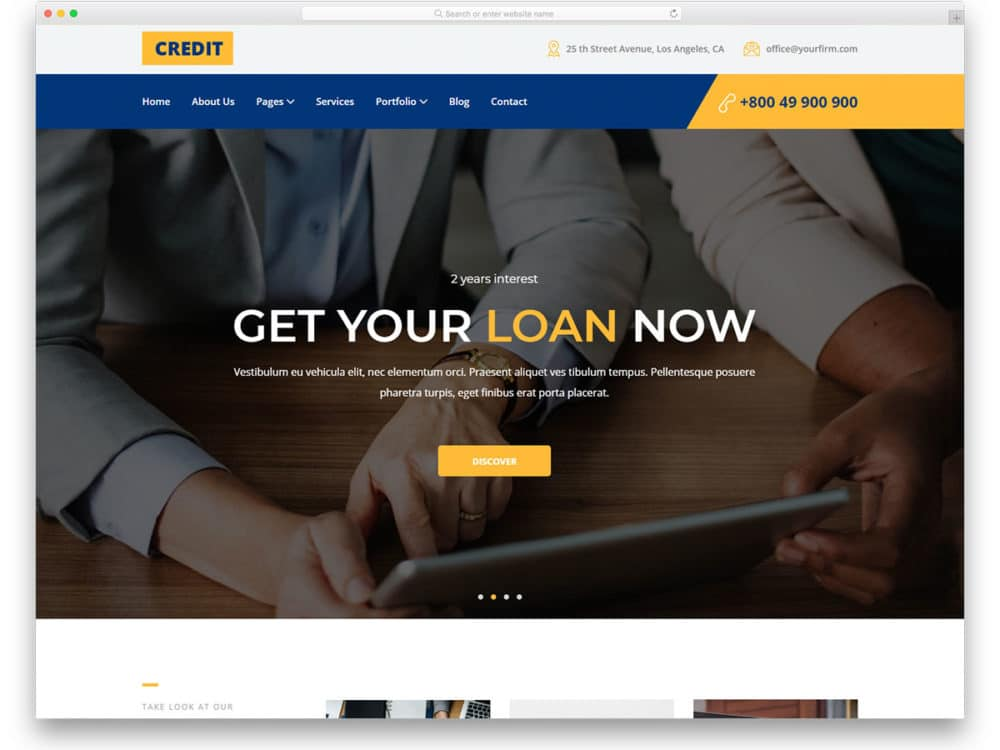 27 Free Finance Website Templates That Can Improve Your Credibility