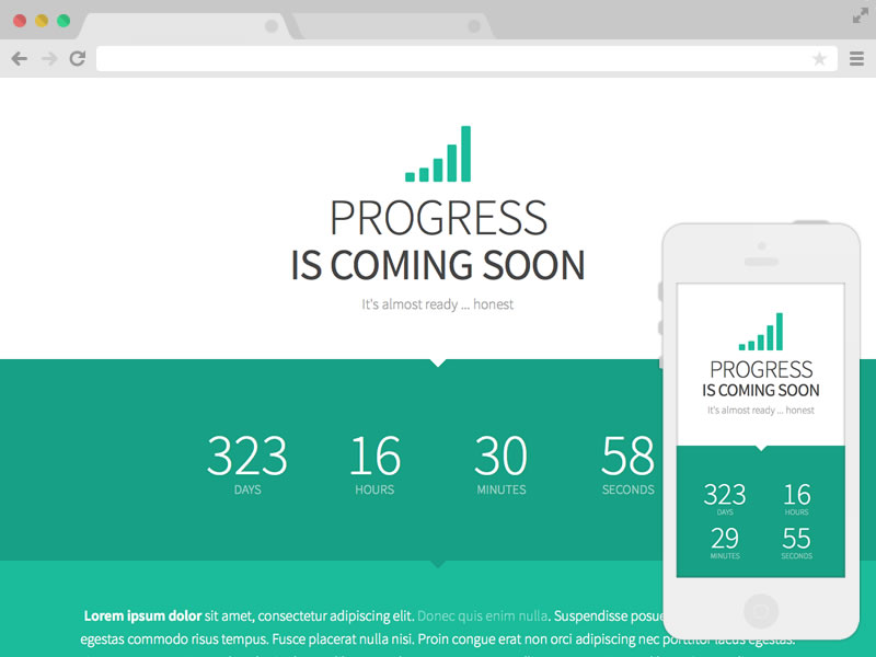 16 Free Coming Soon Website Templates and Themes - UIdeck
