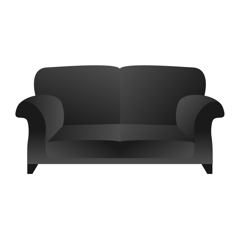 Sofa Set Vector Free Download Black Sofa Free Vector Free Vectors Ui Download
