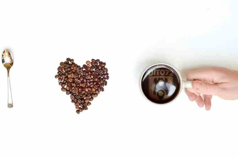 Fan van koffie