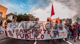 Imagens desta semana dos Atos contra o aumento da Tarifa pelo Brasil