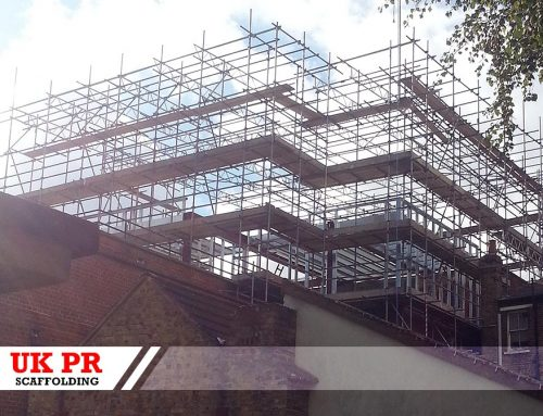 UK PR Scaffolding services in London.
