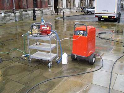 Doff Cleaning - Super Heated Steam Cleaning