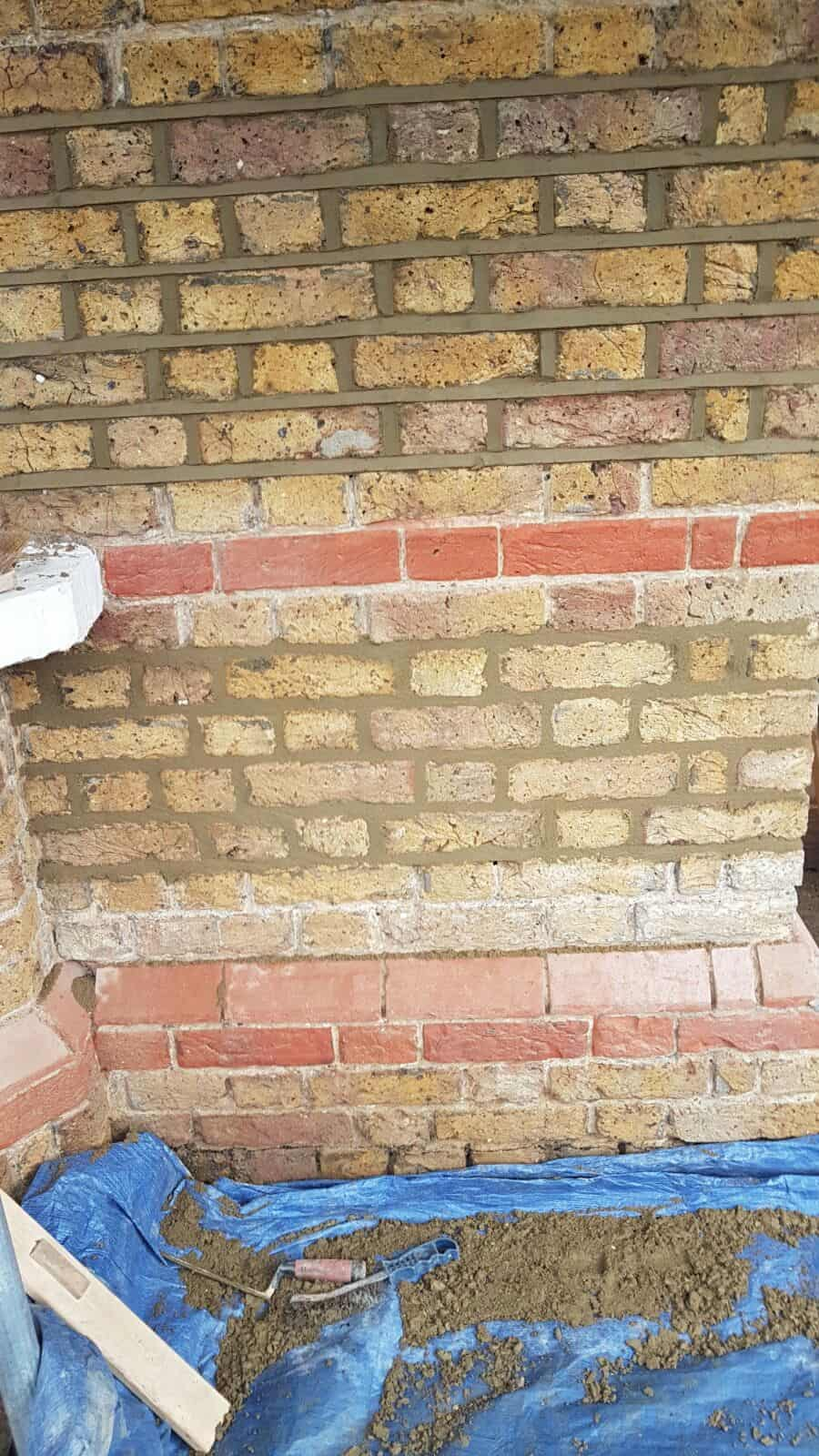 Two Types of Brick Pointing Sutton SM1
