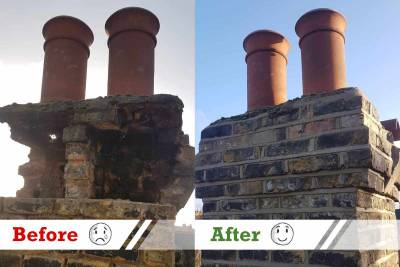 chimney brick restoration