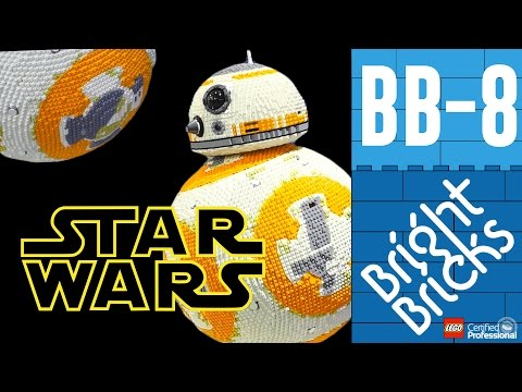 This Life Size LEGO BB-8 is a Nerd Dream Come True