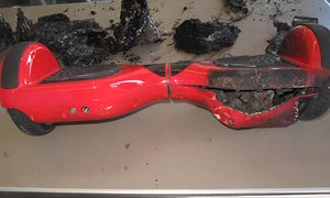 Family sues Amazon for $30m claiming hoverboard burned down their house