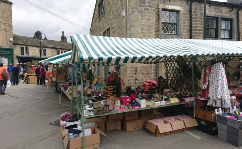 Hebden Bridge Market has moved