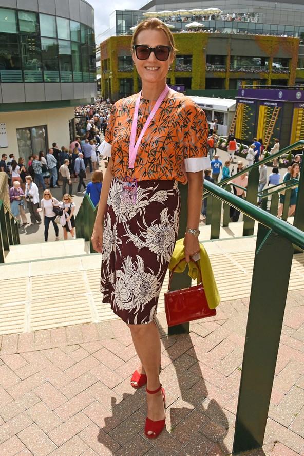 Yasmin LeBon Wimbledon Style