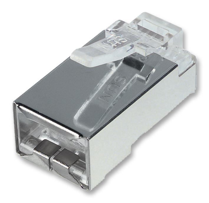 SPC19836 MULTICOMP, Modular Connector, RJ50 Plug, 1 x 1 Port