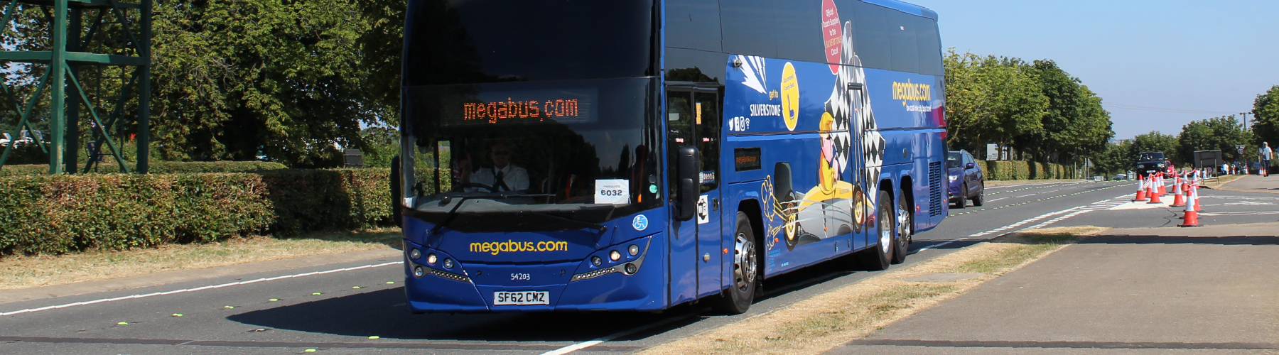Stansted Car Village Shuttle Travel To Silverstone By Coach Megabus Uk