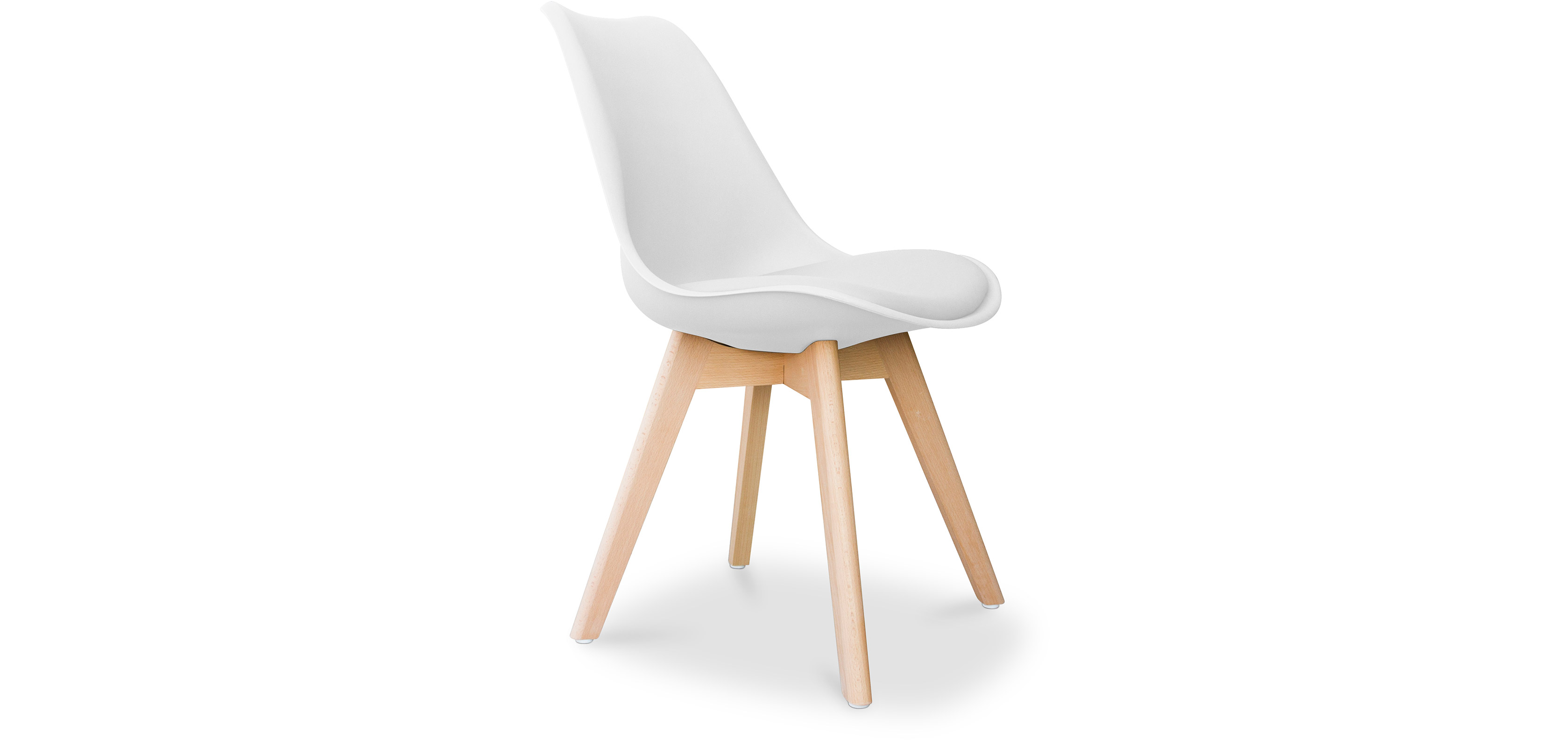 Scandinavian Style Chair Dsw Scandinavian Design Chair With Cushion Charles Eames