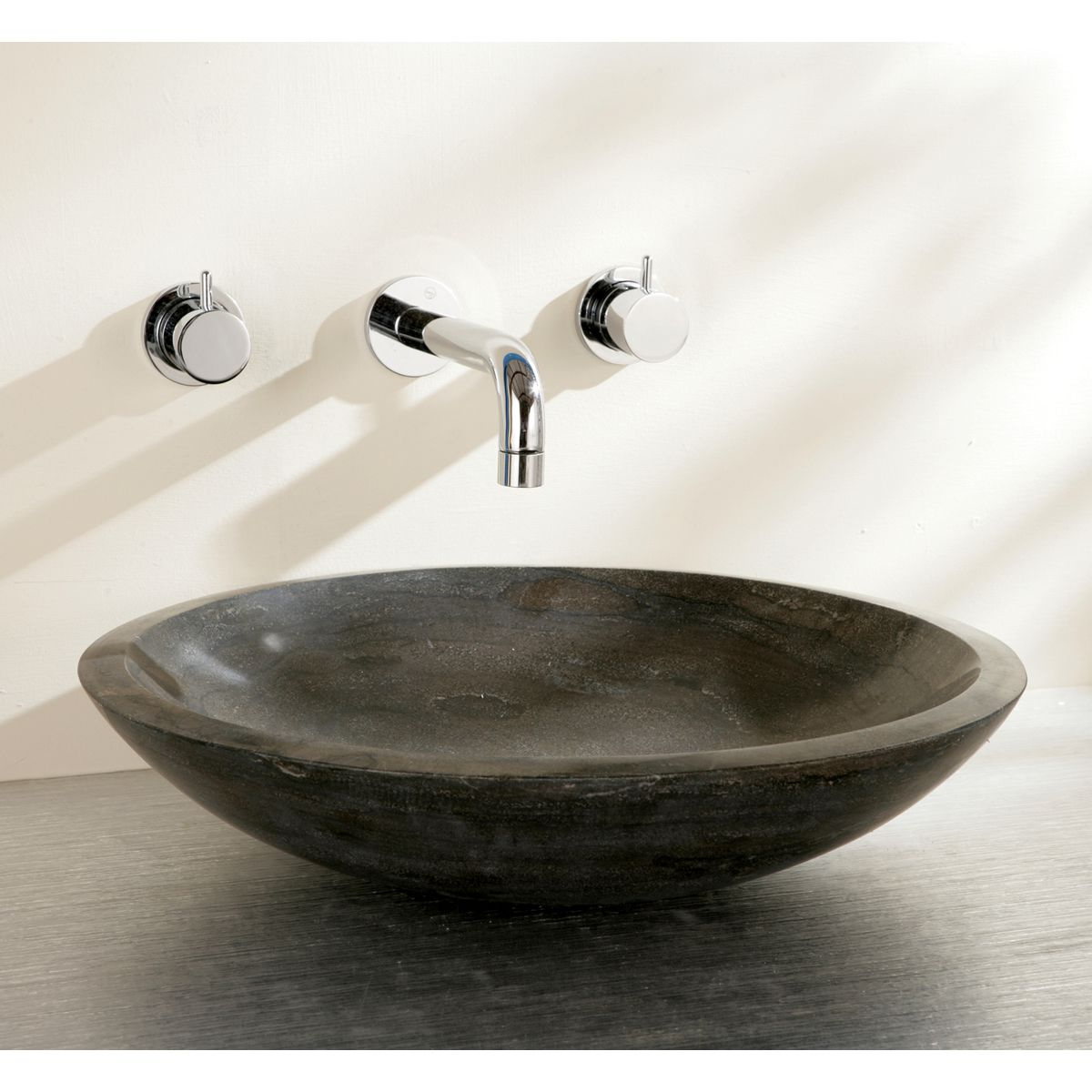 Marble Basin Countertop Finwood Designs Shallow Stone Countertop Basin Uk Bathrooms
