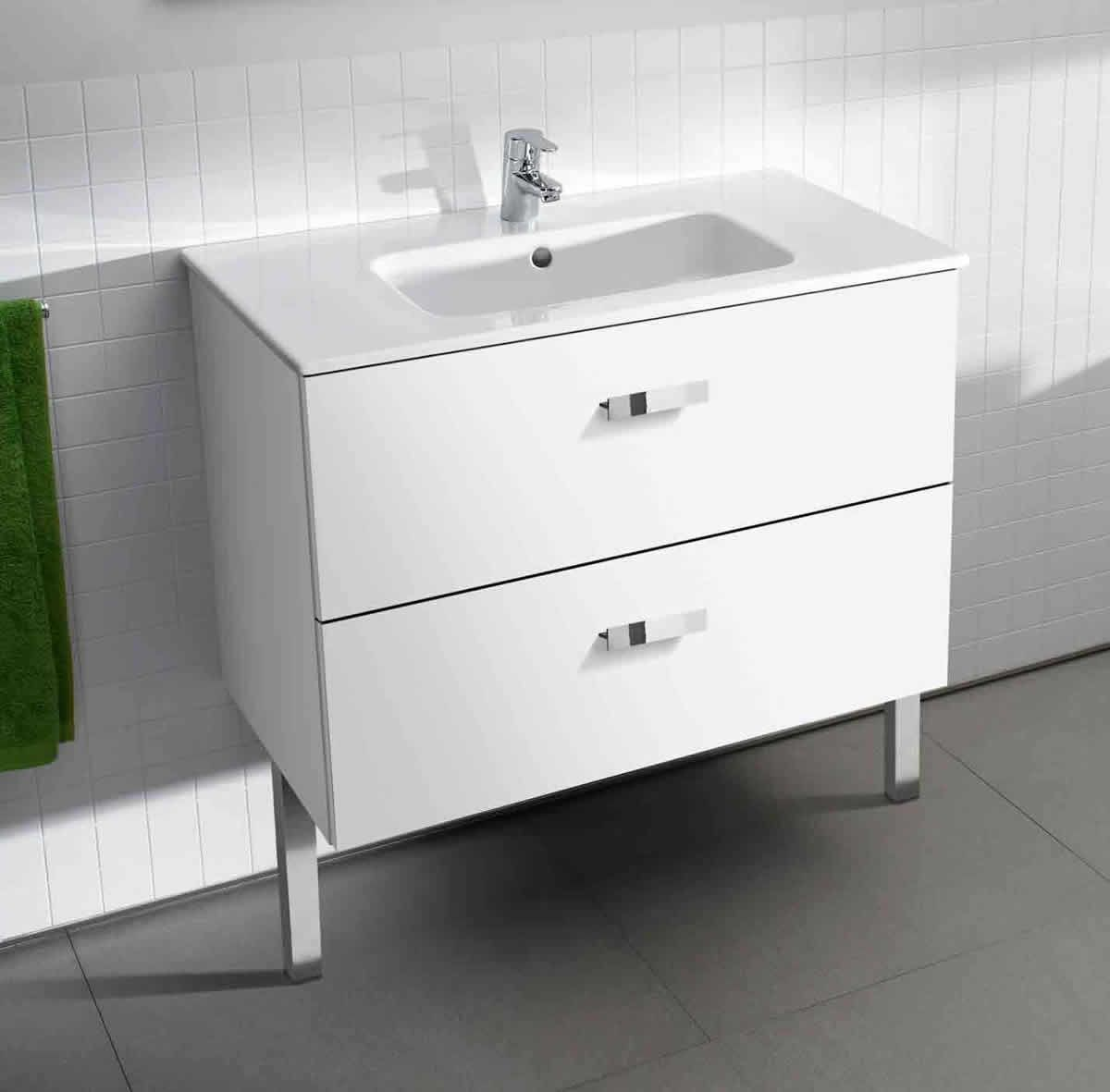 Piece Unik Roca Victoria Basic Unik Vanity Unit And Basin