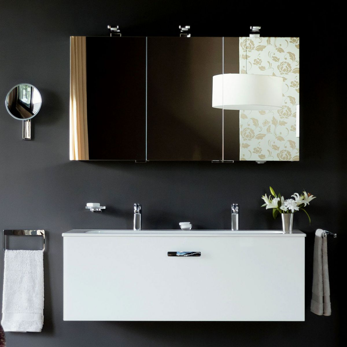 Bathroom Cabinet With Mirror Keuco Royal Universe Illuminated Mirror Cabinet Uk Bathrooms