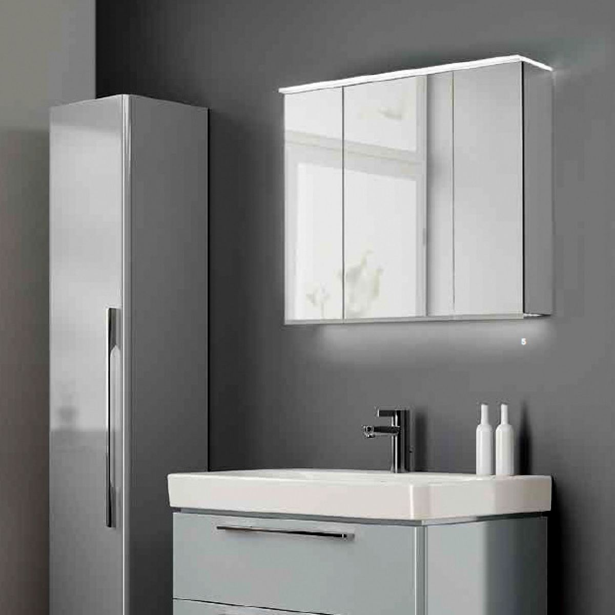 Bathroom Cabinet With Mirror Geberit Option Plus Mirror Cabinet Uk Bathrooms