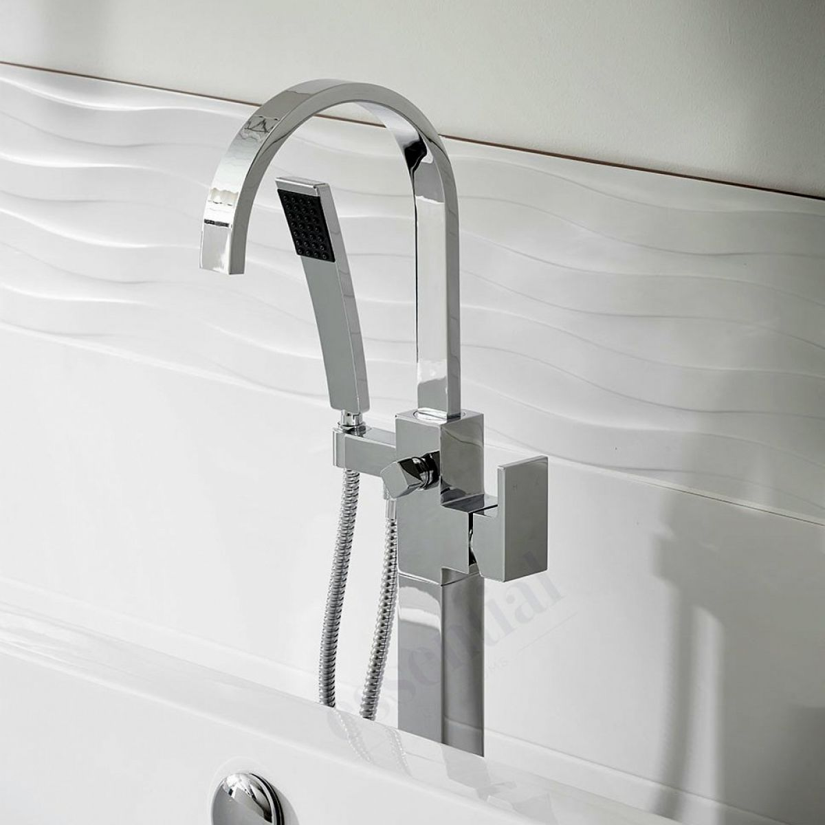 Freestanding Bath Taps Origins Storm Freestanding Bath Shower Mixer Set Uk
