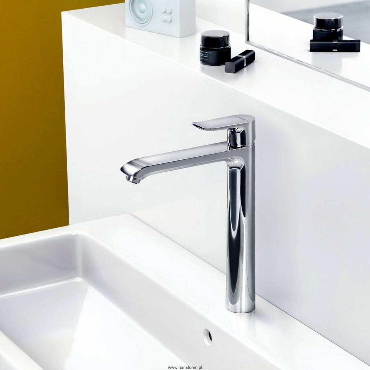 Hansgrohe Metris 260 Taller Basin Mixer Tap Uk Bathrooms - Hansgrohe Metris