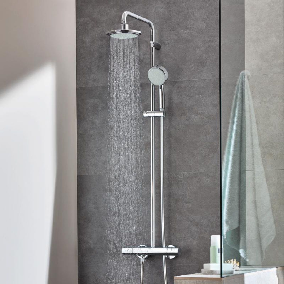 Grohe Vitalio Start System 160 Grohe Tempesta Cosmopolitan 160 Shower System Uk Bathrooms