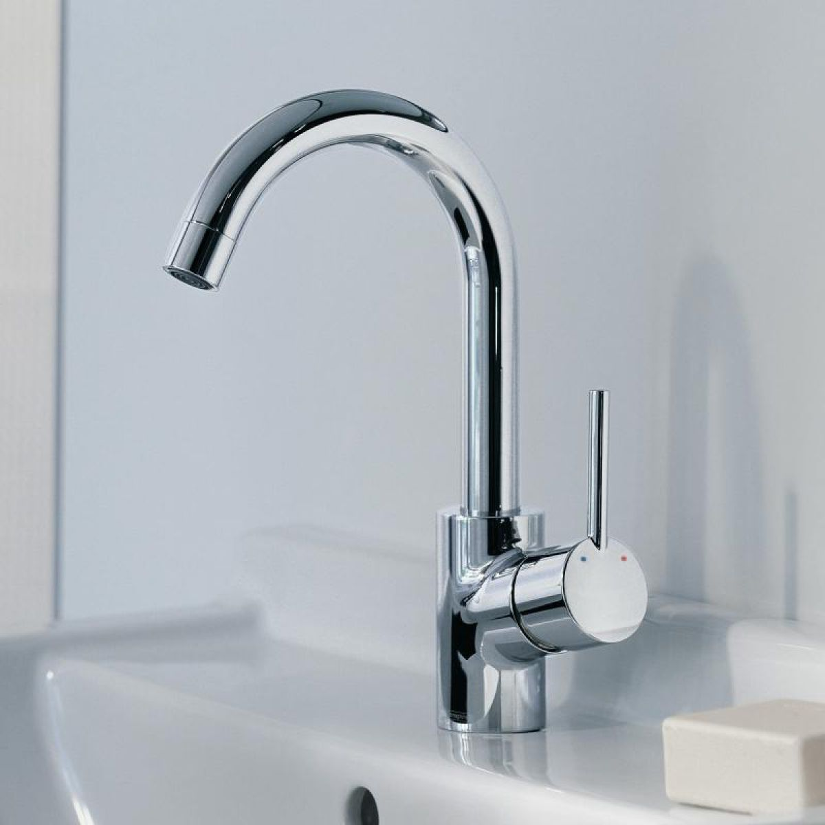Hans Grohe Hansgrohe Talis 39s Single Lever Basin Mixer Uk Bathrooms
