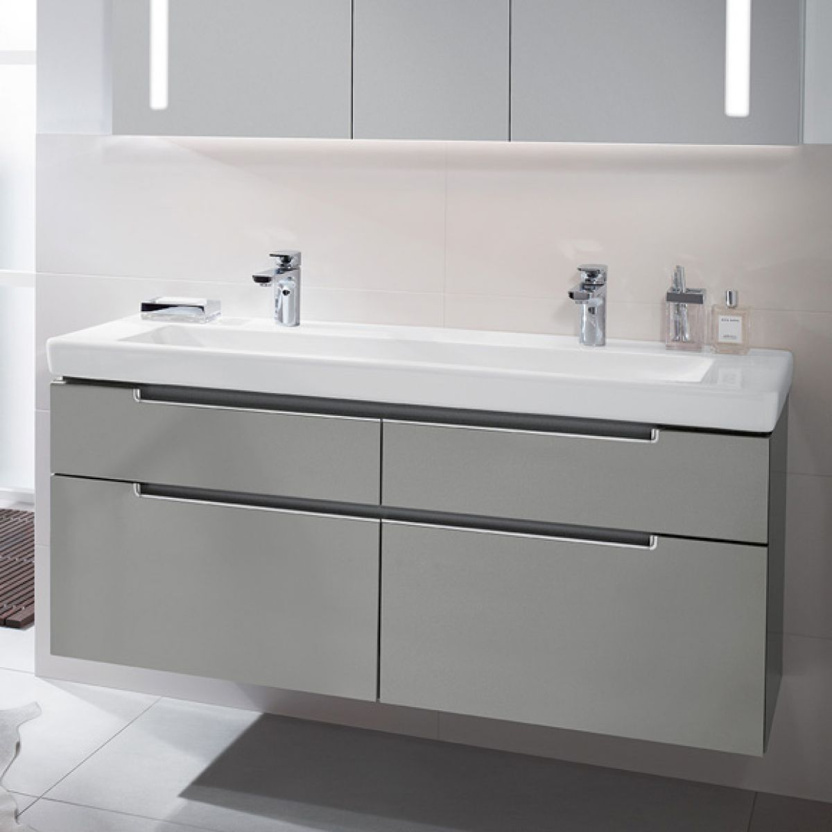 Villeroy Subway Villeroy And Boch Subway 2.0 Double Washbasin Vanity Unit