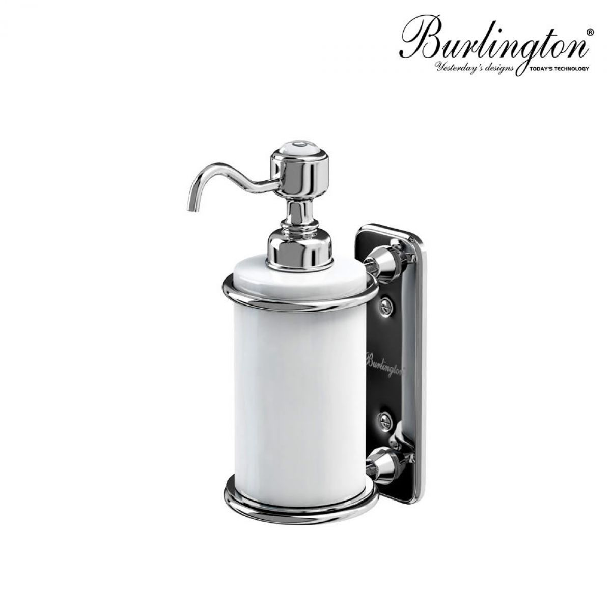 Hand Soap Bottle Holder Burlington Traditional Wall Mounted Liquid Soap Dispenser