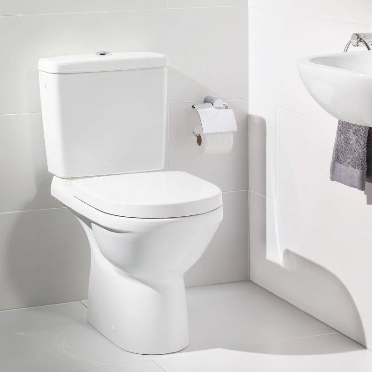 Wc Bril Demonteren Villeroy And Boch O Novo Close Coupled Toilet Uk Bathrooms