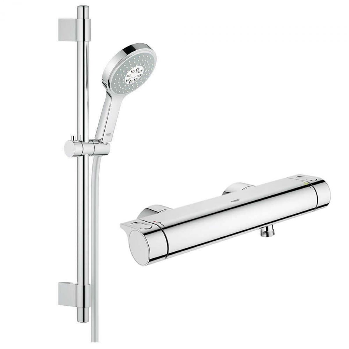 Grohe 2000 Grohe Grohtherm 2000 Thermostatic Shower Mixer With Power Soul Cosmopolitan Shower Set