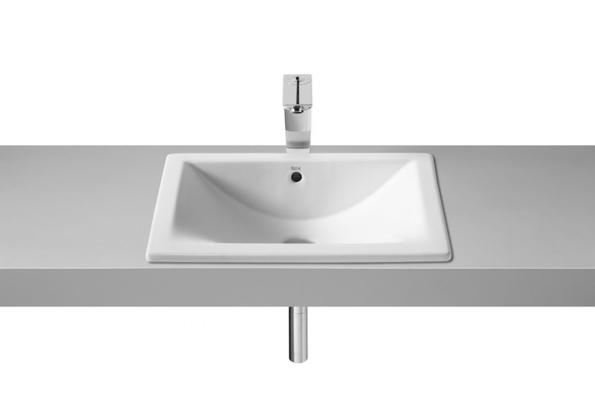 Lavabo Diverta Roca Roca Diverta Under Over Countertop Basin 500mm Uk Bathrooms