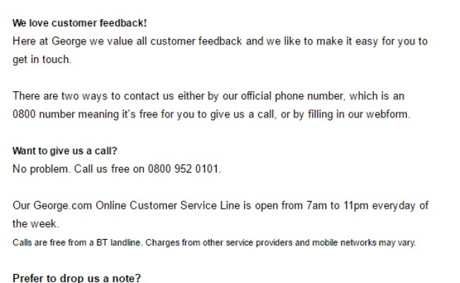 Asda Customers Contact Number 0800 952 0101 Free Number