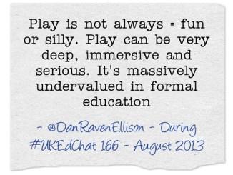 Play-is-not-always-fun