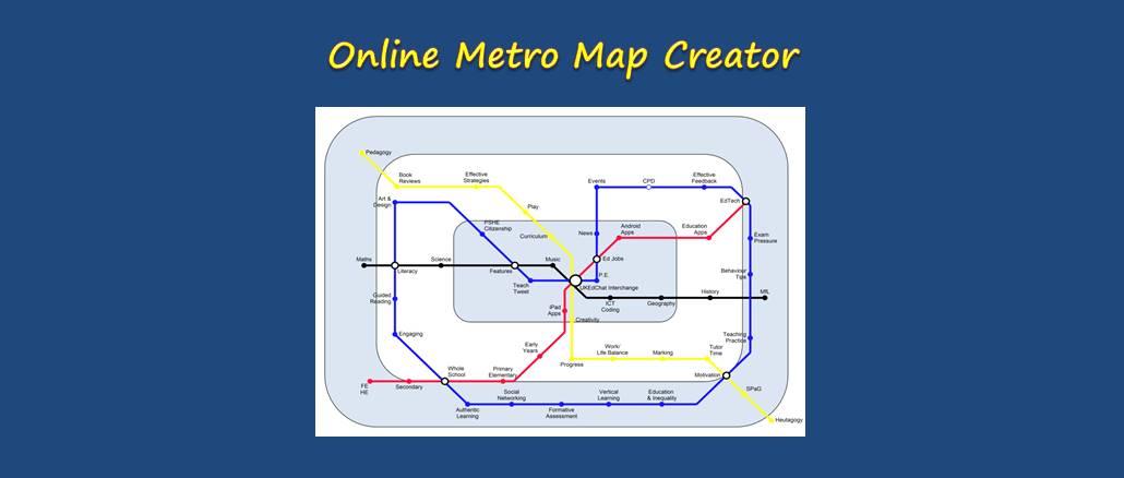 Resource Online Metro Map Creator