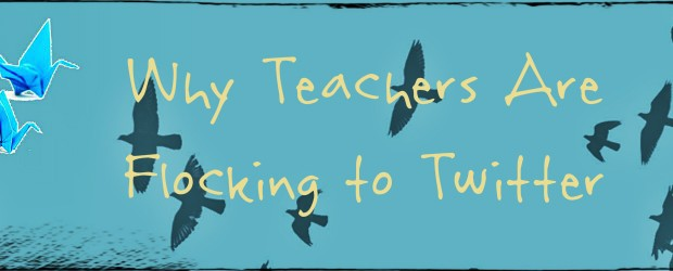 Why Teachers are Flocking to Twitter