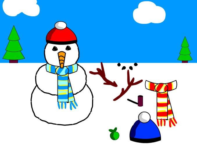 Think Bank Snowman