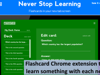 Flash Tabs info