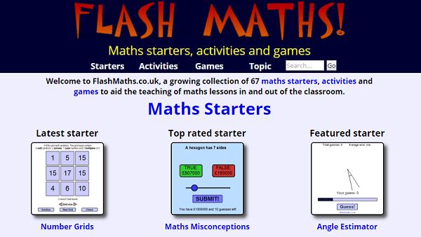 flashmaths