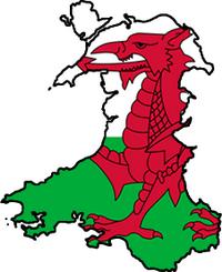 Wales FlagMap