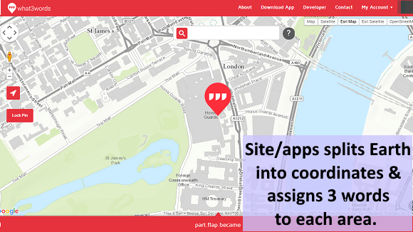 What 3 Words info