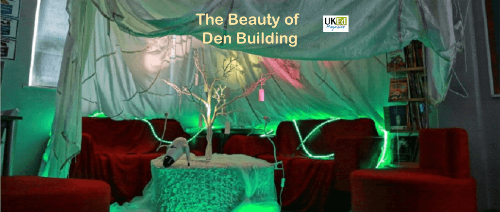 UKEdMag: The Beauty of Den Building by @Janeh271