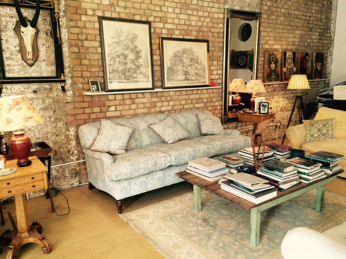 Apartments With Exposed Brick Open Plan Apartment With Exposed Brick Walls For Filming