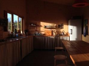 Pig shed kitchen