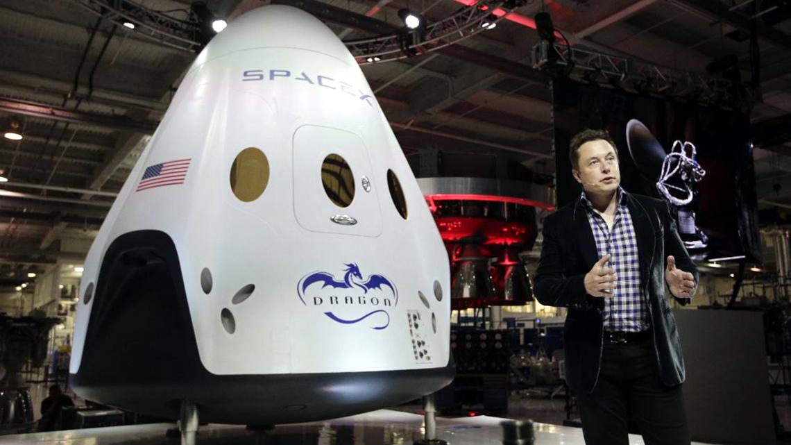 Ілон Маск та супутник для поширення інтернету
