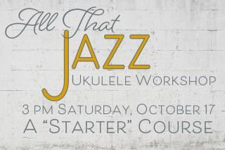 Learn to play jazz ukulele at Oct. 17 workshop