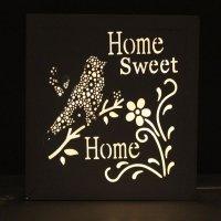 'Home Sweet Home' Pre Lit Wall Art