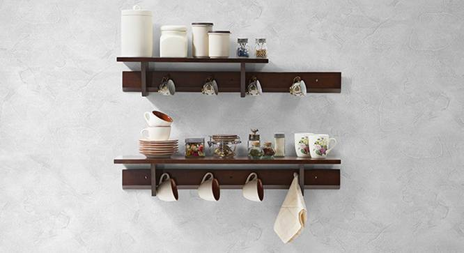 Ibex Kitchen Wall Shelf Set Urban Ladder