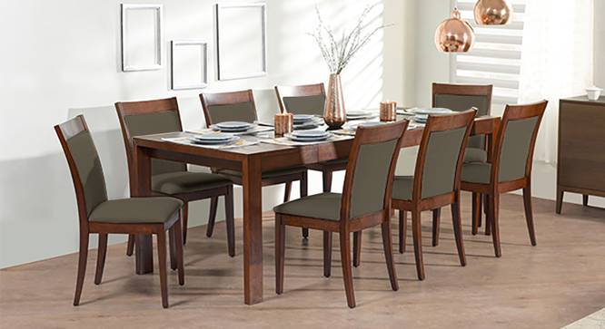 Vanalen 6 To 8 Extendable Dalla 8 Seater Glass Top